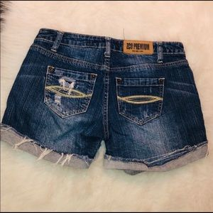 ZCO Shorts - ZCO Distressed Jean Shorts Size 3 Junior